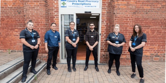 Photo of pharmacy staff